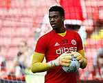 Jamal Blackman of Sheffield Utd during the Championship match at Bramall Lane, Sheffield. Picture date 26th August 2017. Picture credit should read: Simon Bellis/Sportimage