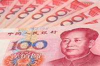 RMB banknotes..
