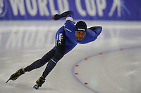 SPEEDSKATING: BERLIN: Sportforum Berlin, 27-01-2017, ISU World Cup, 1500m Men A Division, Shani Davis (USA), ©photo Martin de Jong