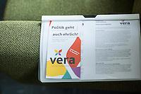 2016/05/25 Berlin | Wahlkampf Abgeordnetenhauswahl 2016 | VERA-Partei