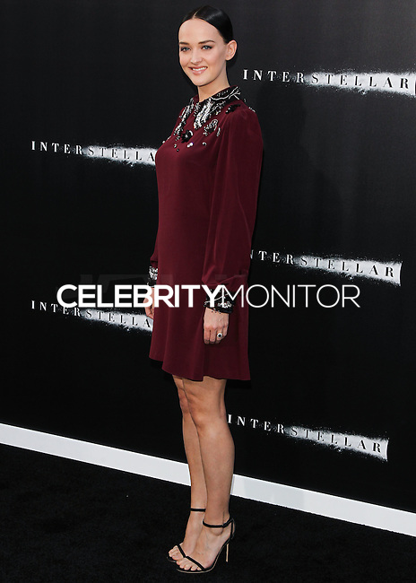 HOLLYWOOD, LOS ANGELES, CA, USA - OCTOBER 26: Jess Weixler arrives at the Los Angeles Premiere Of Paramount Pictures' 'Interstellar' held at the TCL Chinese Theatre on October 26, 2014 in Hollywood, Los Angeles, California, United States. (Photo by Celebrity Monitor)