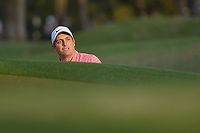 Francesco Molinari (ITA) watches his ball roll out after hitting  from the trap on 1 during day 4 of the WGC Dell Match Play, at the Austin Country Club, Austin, Texas, USA. 3/30/2019.<br /> Picture: Golffile | Ken Murray<br /> <br /> <br /> All photo usage must carry mandatory copyright credit (© Golffile | Ken Murray)