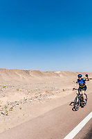 Biking and sailing in Egypt