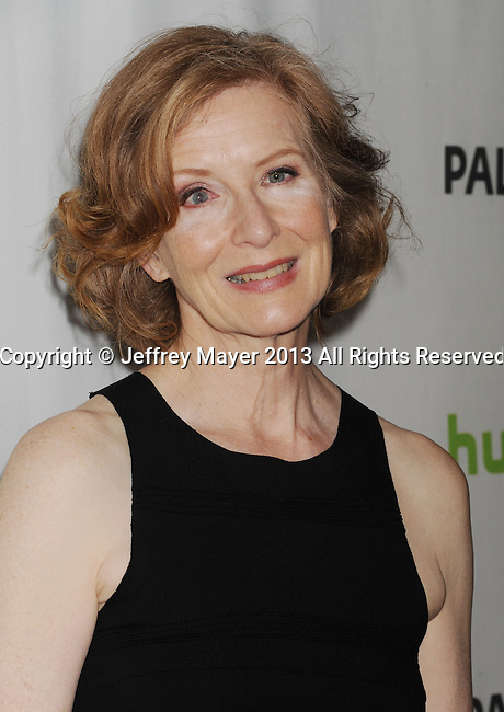BEVERLY HILLS, CA - MARCH 15: Frances Conroy arrives at the 30th Annual PaleyFest: The William S. Paley Television Festival - Closing Night Presentation honoring 'American Horror Story' at the Saban Theatre on March 15, 2013 in Beverly Hills, California.