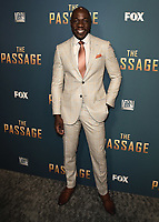 "SANTA MONICA - JANUARY 10:  McKinley Belcher III at the red carpet premiere party for FOX's ""The Passage"" at The Broad Stage on January 10, 2019, in Santa Monica, California. (Photo by Scott Kirkland/Fox/PictureGroup)"