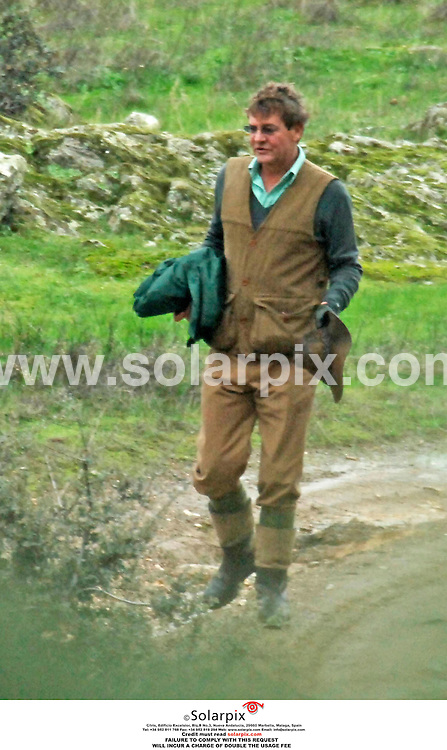 **EXCLUSIVE PICTURES FROM SOLARPIX.COM**.**WORLDWIDE SYNDICATION RIGHTS EXCLUDING SPAIN - NO PUBLICATION IN SPAIN**.Princess Caroline of Monaco and husband Prince Ernesto Augusto of Hanover on a two day hunting trip with family and friends this weekend in the Provincia de Caceres in Spain. Guests included Caroline's sons, Andrea and Pierre Casiraghi Grimaldi  and Ernesto's son, Ernesto Augusto Hannover Junior. The adults stayed in a large finca (country house) and the younger members of the party stayed in a nearby rural hotel with their friends. After hunting all day on Friday, the party went for a meal and after eating, the youngsters stayed out and carried on drinking until the early hours. They failed to show up for the hunting trip on Saturday morning..REF: 3098 RAP    26.11.07.**MUST CREDIT SOLARPIX.COM OR DOUBLE FEE WILL BE CHARGED**