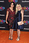 LOS ANGELES, CA - NOVEMBER 08: Songwriters Kate Anderson and Elyssa Samsel arrive at the premiere of Disney Pixar's 'Coco' at El Capitan Theatre on November 8, 2017 in Los Angeles, California.