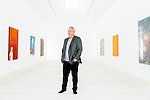 BEVERLY HILLS: Steve Tisch, Giants Co-Owner and film producer, poses for a portrait in his newly-unveiled private art gallery on his property in Beverly Hills, California on Thursday, April 19, 2016.  (Photo by Kendrick Brinson)