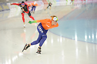 SPEEDSKATING: SOCHI: Adler Arena, 21-03-2013, Training, Linda de Vries (NED), © Martin de Jong