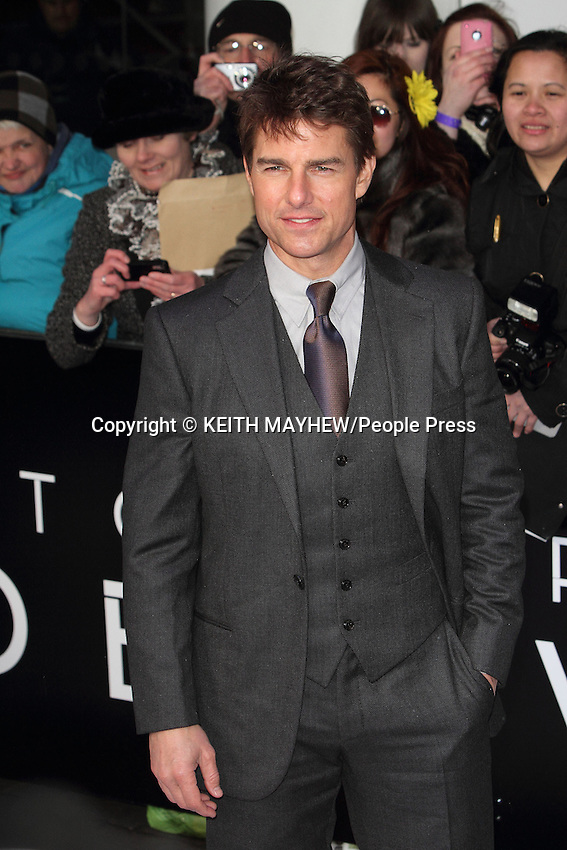 Tom Cruise at the UK Premiere of 'Oblivion' at the BFI IMAX, London - April 4th 2013 ..Photo by Keith Mayhew
