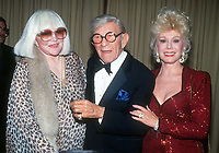 Peggy Lee George Burns Eva Gabor 1982<br /> Photo By John Barrett/PHOTOlink.