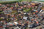 Nederland, Zeeland, Terneuzen, 09-05-2013; Zeeuws-Vlaanderen, centrum van Terneuzen gezien naar Kanaal Terneuzen - Gent.<br /> View on the center Terneuzen (Zeeland) next to the  Terneuzen - Ghent Canal.<br /> luchtfoto (toeslag op standard tarieven);<br /> aerial photo (additional fee required);<br /> copyright foto/photo Siebe Swart.
