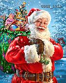 Dona Gelsinger, CHRISTMAS SANTA, SNOWMAN, paintings+++++,USGE1313,#x# Weihnachtsmänner, Papá Noel, Weihnachten, Navidad, illustrations, pinturas klassisch, clásico