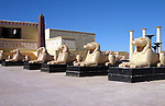 Egyptian set at the Atlas Film Studios in Quarzazate Morocco.