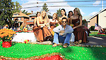 "General Hospital's Scott Reeves ""Dr. Steven Lars Webber"" is the Celebrity Grand Marshal at the 33rd Annual Mountain State Apple Harvest Festival (MSAHF) 2012 parade and stops by the Queen Pomona XXXIII Court on the flost on October 20, 2012 as well as attending the Bob Elmer Celebrity Sports Breakfast sponsored by the Rotary Club and the Queen's Grand Ball at the Historic Shenandoah Hotel in Martinsburg, West Virginia.  (Photo by Sue Coflin/Max Photos)"
