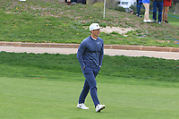 Thorbjorn Olesen (DEN) on the 10th fairway during Round 2 of the Open de Espana 2018 at Centro Nacional de Golf on Friday 13th April 2018.<br /> Picture:  Thos Caffrey / www.golffile.ie<br /> <br /> All photo usage must carry mandatory copyright credit (&copy; Golffile | Thos Caffrey)
