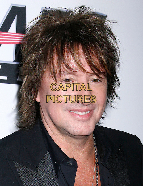 RICHIE SAMBORA (BON JOVI).At The 2010 Pre-Grammy Gala Salute To Icons held at The Beverly Hilton Hotel in Beverly Hills, California, USA..January 30th 2010..portrait headshot black .CAP/RKE/DVS.©DVS/RockinExposures/Capital Pictures