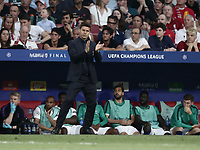 Tottenham's coach Mauricio Pochettino during the UEFA Champions League final football match between Tottenham Hotspur and Liverpool at Madrid's Wanda Metropolitano Stadium, Spain, June 1, 2019. Liverpool won 2-0.<br /> UPDATE IMAGES PRESS/Isabella Bonotto