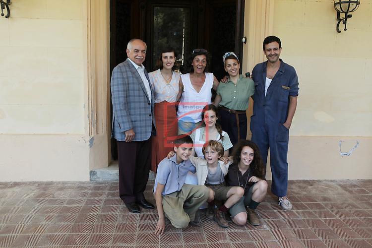 La llum d'Elna.<br /> Visita al rodaje.<br /> Pep Anton Mu&ntilde;oz, Natalia de Molina Silvia Quer, Noemie Schmidt, Nausicaa Bonnin &amp; Isak Ferriz.