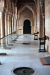 Court of the Lions in the Alhambra Palace<br /> <br /> Patio de los Leones en el Palacio de Alhambra<br /> <br /> L&ouml;wenhof im Alhambra Palast<br /> <br /> 3898 x 2602 px<br /> Original: 35 mm slide transparancy