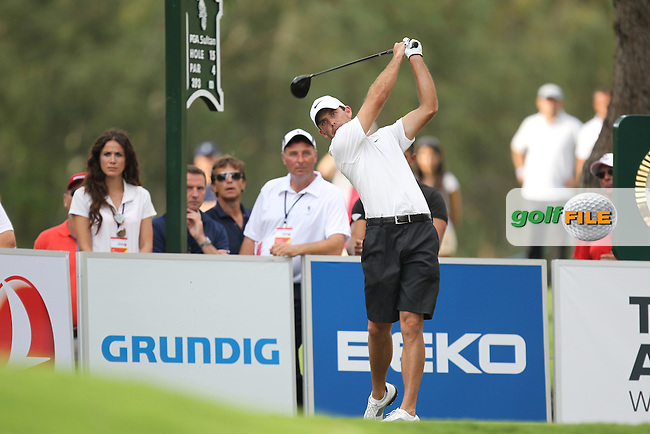 Charl Schwartzel (RSA) during round 4 of the Turkish Airlines World Golf Final in Antalya Golf Club, Antalya, Turkey..Picture: Fran Caffrey/www.golffile.ie.