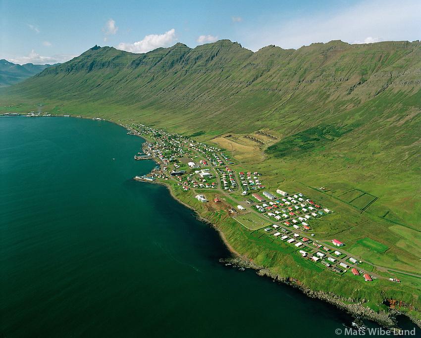 Neskaupstaður, Fjarðabyggð..Neskaupstadur (Nordfjordur), Fjardabyggd.