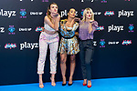 Actress Andrea Gasch, Chanel Terrero and Lucia Gil attends presentation of new schedule of 'Playz' during FestVal in Vitoria, Spain. September 05, 2018. (ALTERPHOTOS/Borja B.Hojas)