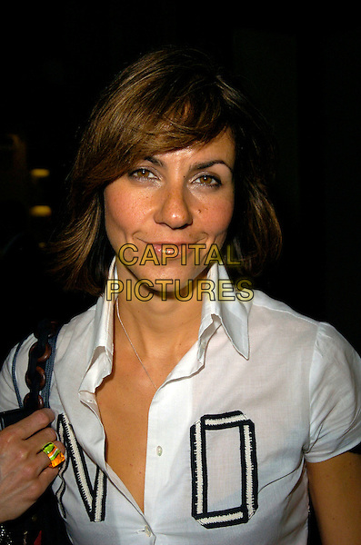 JULIA BRADBURY .The Puma French 77 launch party, Claridge's hotel, London, England..April 19th, 2007.headshot portrait .CAP/CAN.©Can Nguyen/Capital Pictures