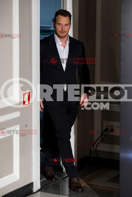 "American actor Chris Pratt attends to the presentation of the american film ""Passengers"" at Hotel Villa Magna in Madrid, Spain. November 30, 2016. (ALTERPHOTOS/BorjaB.Hojas) /NORTEPHOTO.COM"