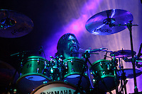 Hermosillo, Sonora., 21/06/2014, La banda de rock Caifanes en concierto en la explanada de Expoforum.