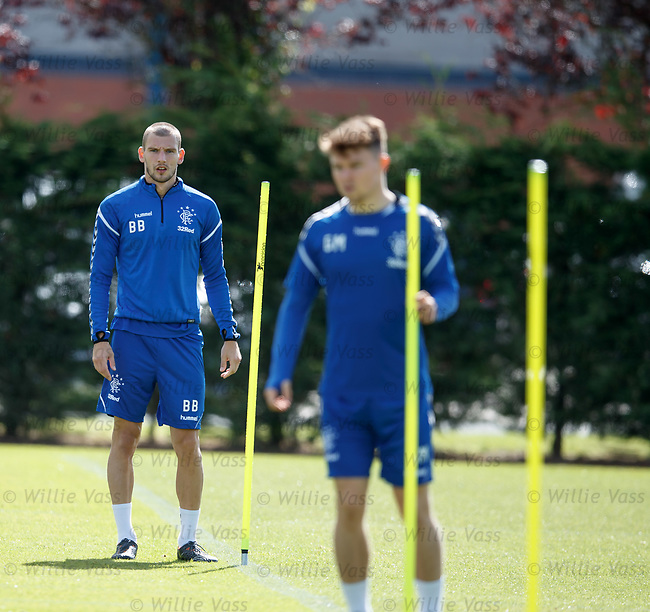 10.08.18 Rangers training: Borna Barisic