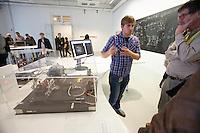 "dOCUMENTA (13) in Kassel, Germany..Friedericianum..Anton Zeilinger. ""Quantum Now"", 2012."