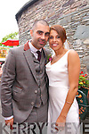 Jessika Zebo, whose brother is the Irish rugby international player Simon Zebo, from Cork, and Darragh Graham, from the folk band Hermitage Green, Co. Wicklow, who were married on the 19th of July 2014 in St. Mary's Church, Dingle, by fr. Tadhg Ó Mathúna. Best Men were Padge McWalter, Brian Shannon and Simon Zebo. Bridesmaids were Kate Whelan, Niamh Cremin and Emma Graham. The reception was held at Ballintaggard House, Dingle.