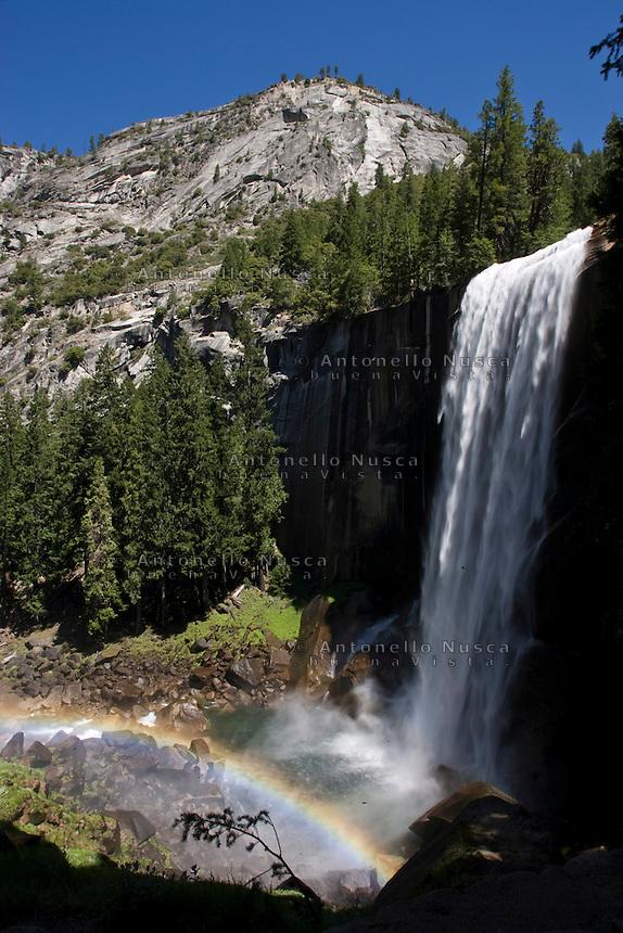 Yosemite Park, California, Usa, Giugno, 2007. Cascate nello Yosemite Park