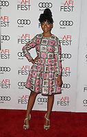 Hollywood, CA - NOVEMBER 15: Skai Jackson, At Audi Celebrates La La Land At AFI Fest 2016 Presented By Audi At The TCL Chinese Theatre, California on November 15, 2016. Credit: Faye Sadou/MediaPunch
