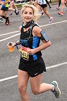 Helen Skelton<br /> at the start of the London Marathon 2019, Greenwich, London<br /> <br /> ©Ash Knotek  D3496  28/04/2019