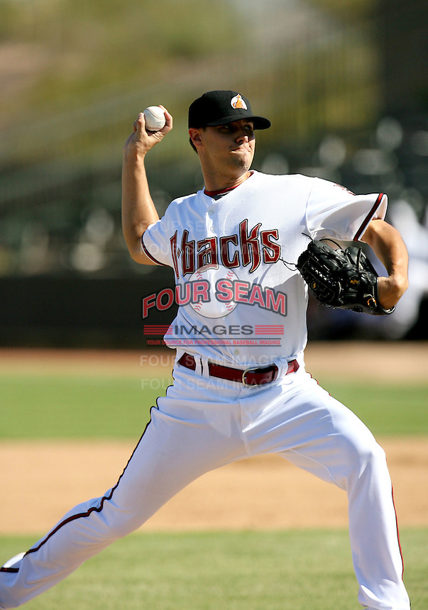 Tony Barnette / Phoenix Desert Dogs 2008 Arizona Fall League..Photo by:  Bill Mitchell/Four Seam Images