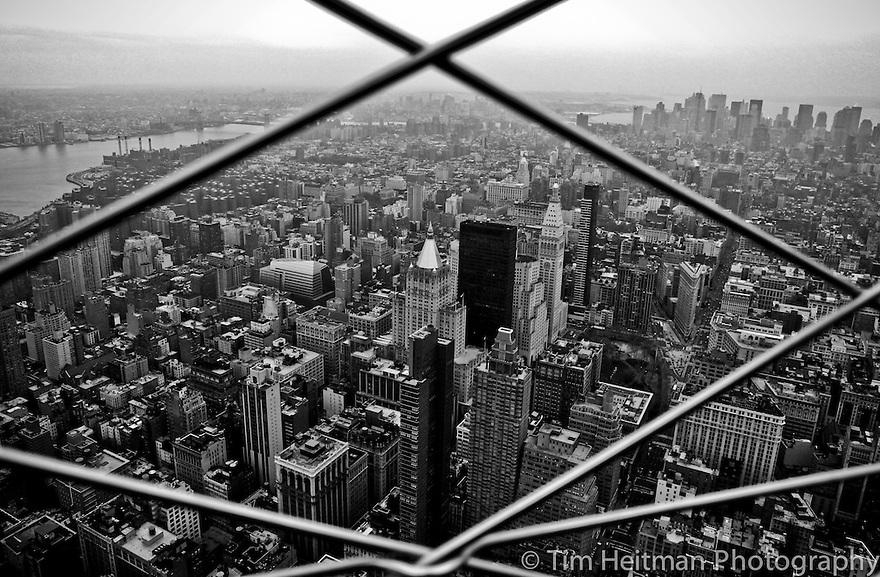Walking around New York City
