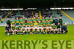 The Kerry Team at the Kerry v Down in the Christy Ring Cup Round 1 at Austin Stack Park on Saturday