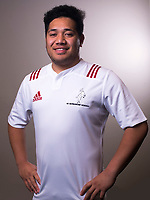 David Meki. The 2017 New Zealand Schools Barbarians rugby union headshots at the Sport and Rugby Institute in Palmerston North, New Zealand on Monday, 25 September 2017. Photo: Dave Lintott / lintottphoto.co.nz