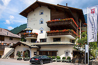 Hotel Walserhof traditional hotel and restaurant in Klosters, Graubunden region, Switzerland