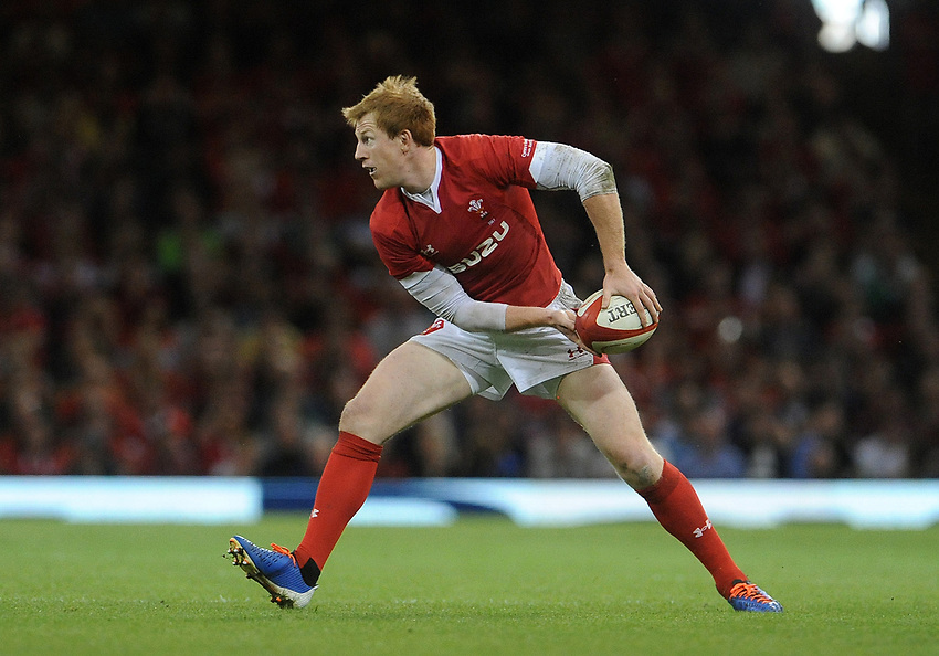 Wales Rhys Patchell during the game <br /> <br /> Photographer Ian Cook/CameraSport<br /> <br /> 2019 Under Armour Summer Series - Wales v Ireland - Saturday 31st August 2019 - Principality Stadium - Cardifff<br /> <br /> World Copyright © 2019 CameraSport. All rights reserved. 43 Linden Ave. Countesthorpe. Leicester. England. LE8 5PG - Tel: +44 (0) 116 277 4147 - admin@camerasport.com - www.camerasport.com
