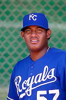 Edul Escobar ---  AZL Royals - 2009 Arizona League.Photo by:  Bill Mitchell/Four Seam Images