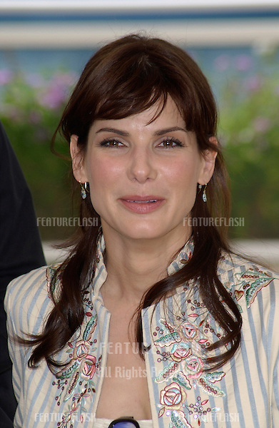 Actress SANDRA BULLOCK at the Cannes Film Festival to promote her new movie Murder By Numbers..25MAY2002. © Paul Smith / Featureflash
