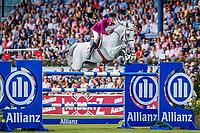 POR-Luciana Diniz rides Vertigo du Desert during the Allianz-Prize Jumping. 2019 GER-CHIO Aachen Weltfest des Pferdesports. Saturday 20 July. Copyright Photo: Libby Law Photography
