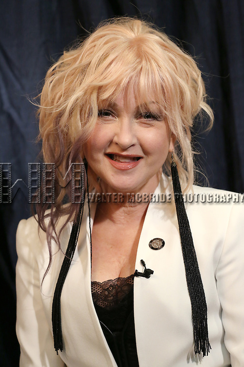 Cyndi Lauper  'In The Spotlight' at the 2013 Tony Awards Meet The Nominees Junket  at the Millennium Broadway Hotel in New York on 5/1/2013...