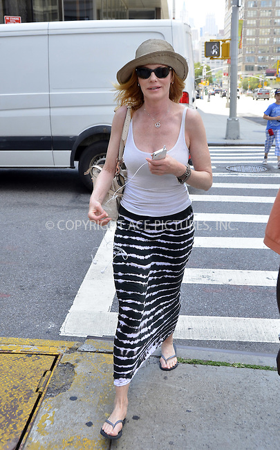 WWW.ACEPIXS.COM......July 24 2012, New York City....Actress Marg Helgenberger arrives at a Soho hotel on July 24 2012 in New York City......By Line: Curtis Means/ACE Pictures......ACE Pictures, Inc...tel: 646 769 0430..Email: info@acepixs.com..www.acepixs.com