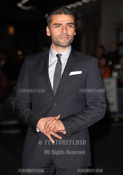 Oscar Isaac arriving for the Inside Llewyn Davis Premiere, at Odeon Leicester Square, London. 15/10/2013 Picture by: Alexandra Glen / Featureflash