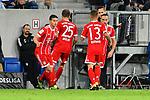 09.09.2017, wirsol-Rhein-Neckar-Arena, Sinsheim, GER, 1. FBL, TSG 1899 Hoffenheim vs FC Bayern Muenchen, im Bild Auswechslung / Einwechslung James Rodriguez (#11, FC Bayern Muenchen) und Franck Ribery (#7, FC Bayern Muenchen) fuer Thomas Mueller (#25, FC Bayern Muenchen) und Rafinha (#13, FC Bayern Muenchen)<br /> <br /> Foto &copy; nordphoto / Fabisch