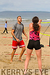Beach Volleyball: Riccardo Santangolo from Ballybunion taking part in the first Beach Volleyball competition held in the beach in Ballybunion on Sunday last.